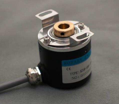 Free Shipping!  1pcs Photoelectric Rotary Encoder Hollow Shaft ZKP3808 1000 Pulse ABZ Three Phases 5-24V