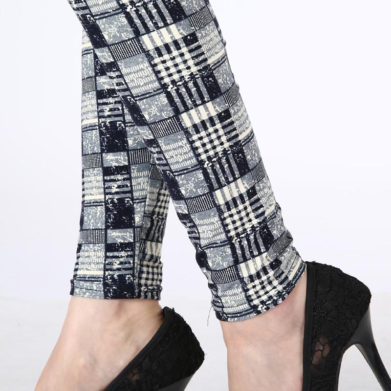 TOIVOTUKSIA Women Leggings Pantalones Black Milk Print Leggings Summer Style Soft Skin Material Nine Women Leggins 8