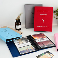 100 150 Pockets Mini Instax Photo Album Holder Flamingos Cover Candy Color Book Style Album For