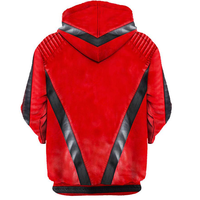 MJ Michael Jackson Thriller Hoodie Sweatshirt Men Women 2018 Long Sleeve Spring Autumn Sportswear Tracksuit 3D Hoody Tops 5XL
