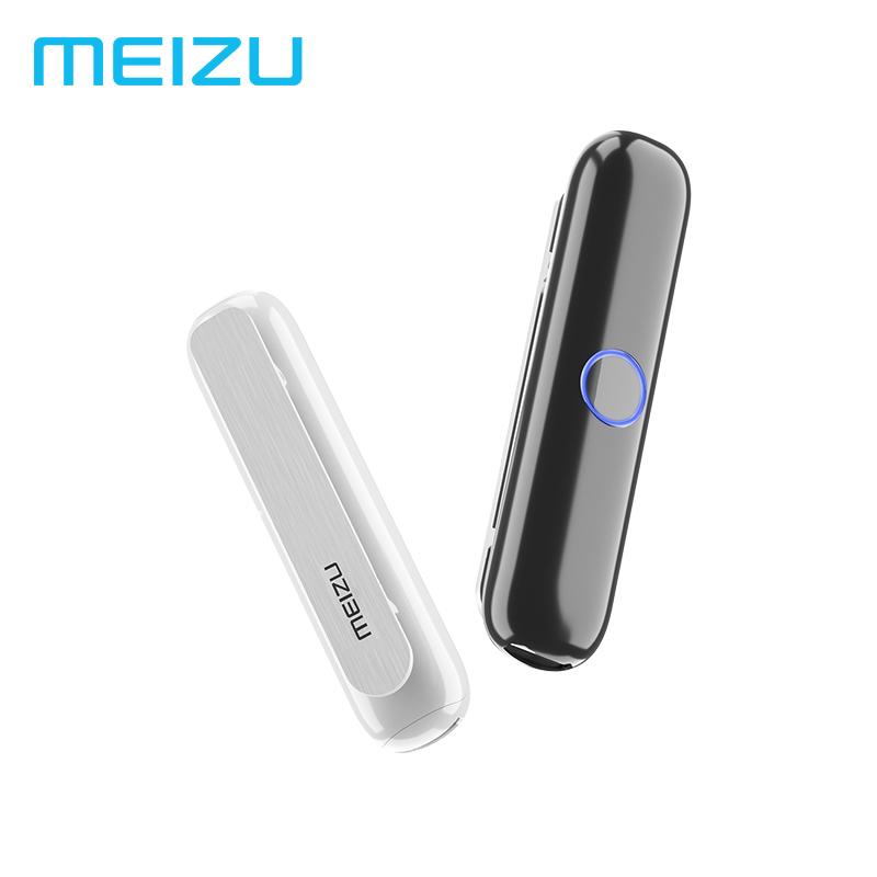 Original meizu bar01 bluetooth 4.2 receptor de áudio sem fio adaptador 3.5mm áudio música alto-falante do carro fone ouvido para fones com fio