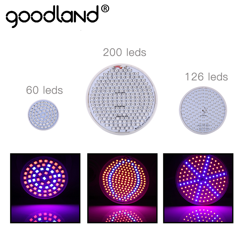 Goodland LED Grow Light Full Spectrum Phyto Lamp E27 Plant Lamp For Indoor Greenhouse Hydroponic System Vegetable Flower full spectrum led grow lights 360w led hydroponic lamp for indoor plants growth vegetable greenhouse plants grow light russian