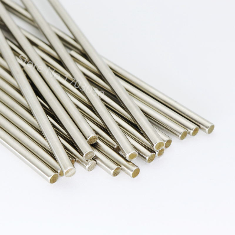 RC Model Stainless Steel <font><b>Rods</b></font> <font><b>shaft</b></font> Linear Rail Round <font><b>Shaft</b></font> Length 200mm * Diameter 3mm/2mm/2.<font><b>5mm</b></font>/4mm/<font><b>5mm</b></font> 10pcs image