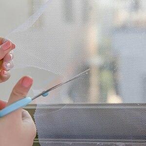 Image 4 - 2019 mosca quente mosquito janela net tela de malha sala cortinas mosquiteiras net cortina protetor tela da mosca inset tslm2