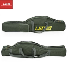 LEO Portable Fishing Bags 100cm150cm Folding Fishing Rod Carrier Canvas Fishing