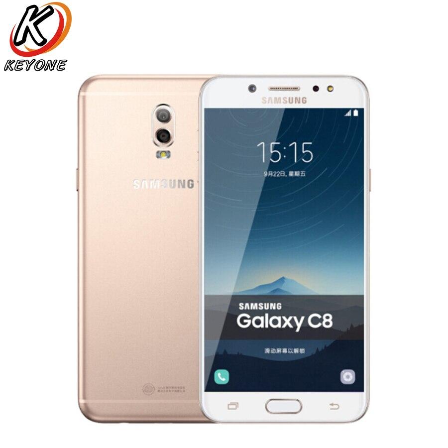 Новый Samsung GALAXY C8 C7100 LTE мобильный телефон 5,5 3 ГБ ОЗУ 32 Гб ПЗУ двойная задняя камера 3000 мАч Android Dual SIM смартфон - 6