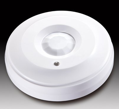 Wired ceiling mounted infrared detector | hard wired alarm kit | home automation | home alarm