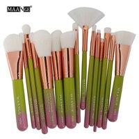 Best Deal New 2017 15pcs Cosmetic Makeup Brush Blusher Eye Shadow Brushes Set Kit Professional Make