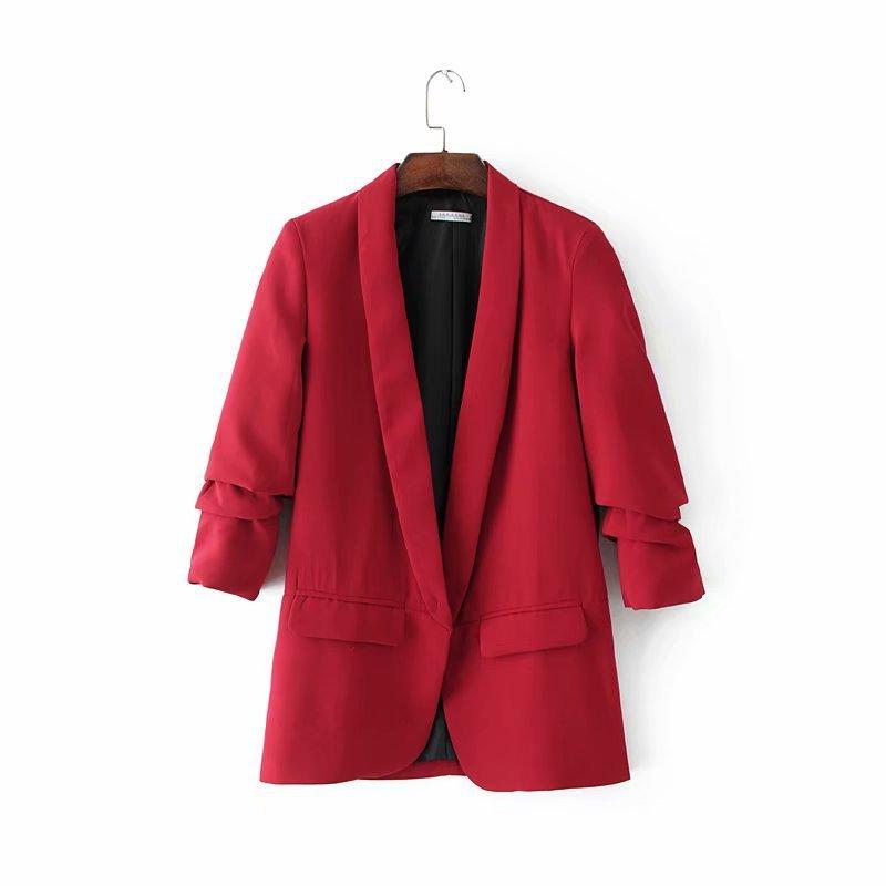 Пересекающиеся 18 Новые летние в Европе и ветер скорость продажи пройти 27194 вертикальные складные женские куртки