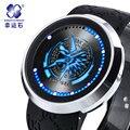 Monster Hunter Reloj LED Marca de Relojes de Los Hombres Encanto Fresco Moda Luminoso relogio masculino electrónica wirst reloj resistente al agua 30 m