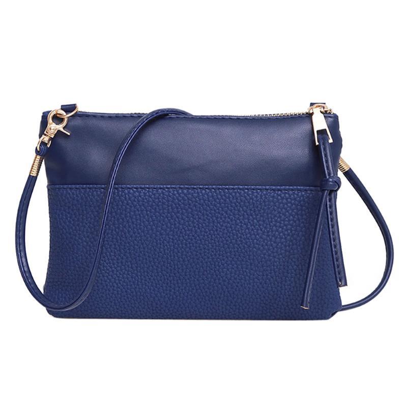New PU Leather Women Small Messenger Bag Sling Shoulder Bags Fashion Female Shoulder Crossbody Bags Women Mini Clutch Handbags