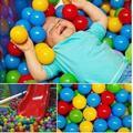 Детский Манеж ребенка Детский Бассейн Шары 50 шт. Ребенка Ползать Мяч Детские Игрушки 6 Месяцев Манеж Манеж Для Пластиковые Шарики С шары