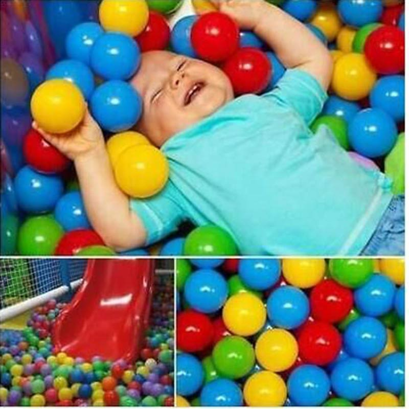 Baby Playpen Baby Pool Balls 50pcs Baby Crawling Ball Infant Toys 6 Months Playpen For Plastic