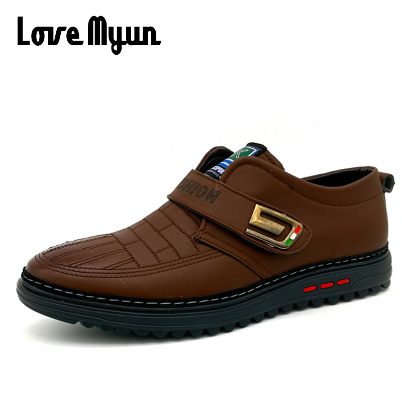 5b75209d6a1e 2018 clearance sale brand new spring mens leather shoes Oxfords fashion Casual  shoes lacquerer welder Abrasion resistanc KC-1370