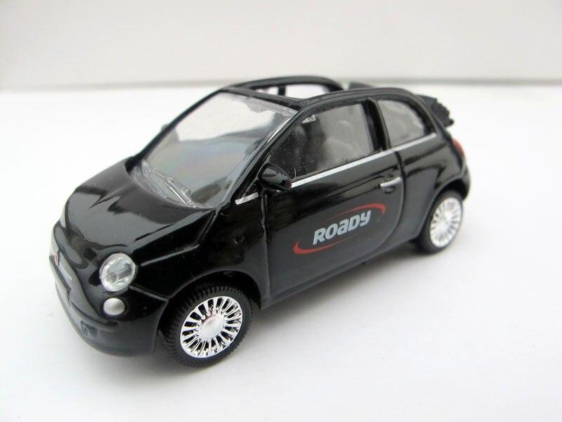 NOREV mannequin automobiles FIAT 500C Fiat 1:64 alloy alloy automotive mannequin ROADY