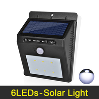 LED Solar Light Waterproof IP65 Outdoor Lighting Ultra Bright LED Solar Lamp Wall Lamps For Home