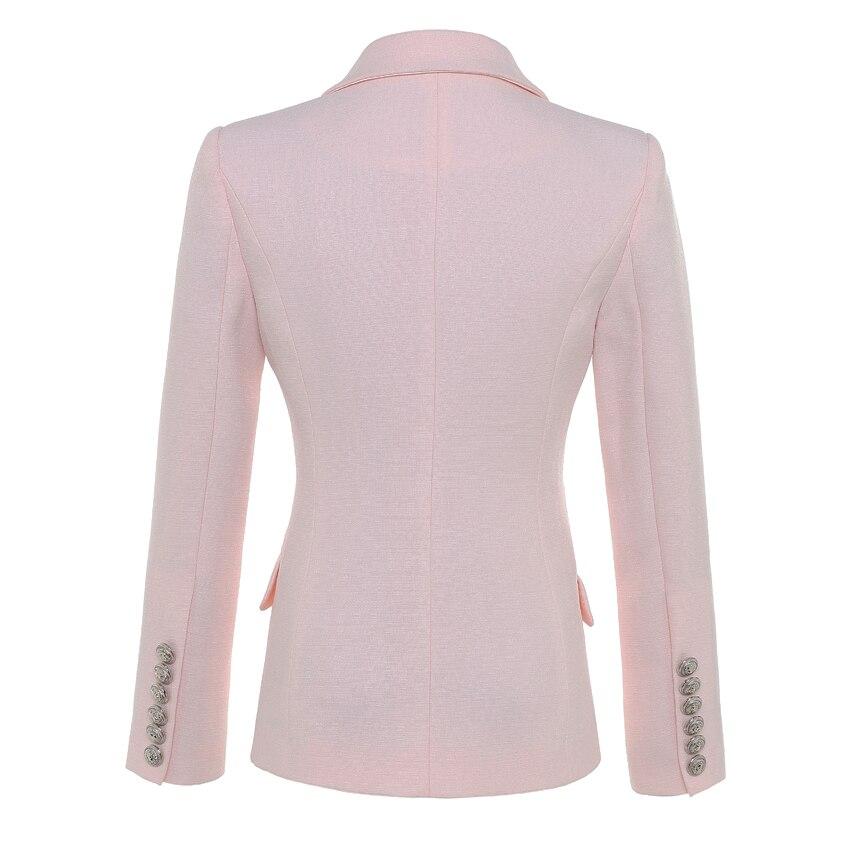 ALTA CALIDAD Nueva moda 2018 Baroque Designer Blazer Jacket Silver - Ropa de mujer - foto 2