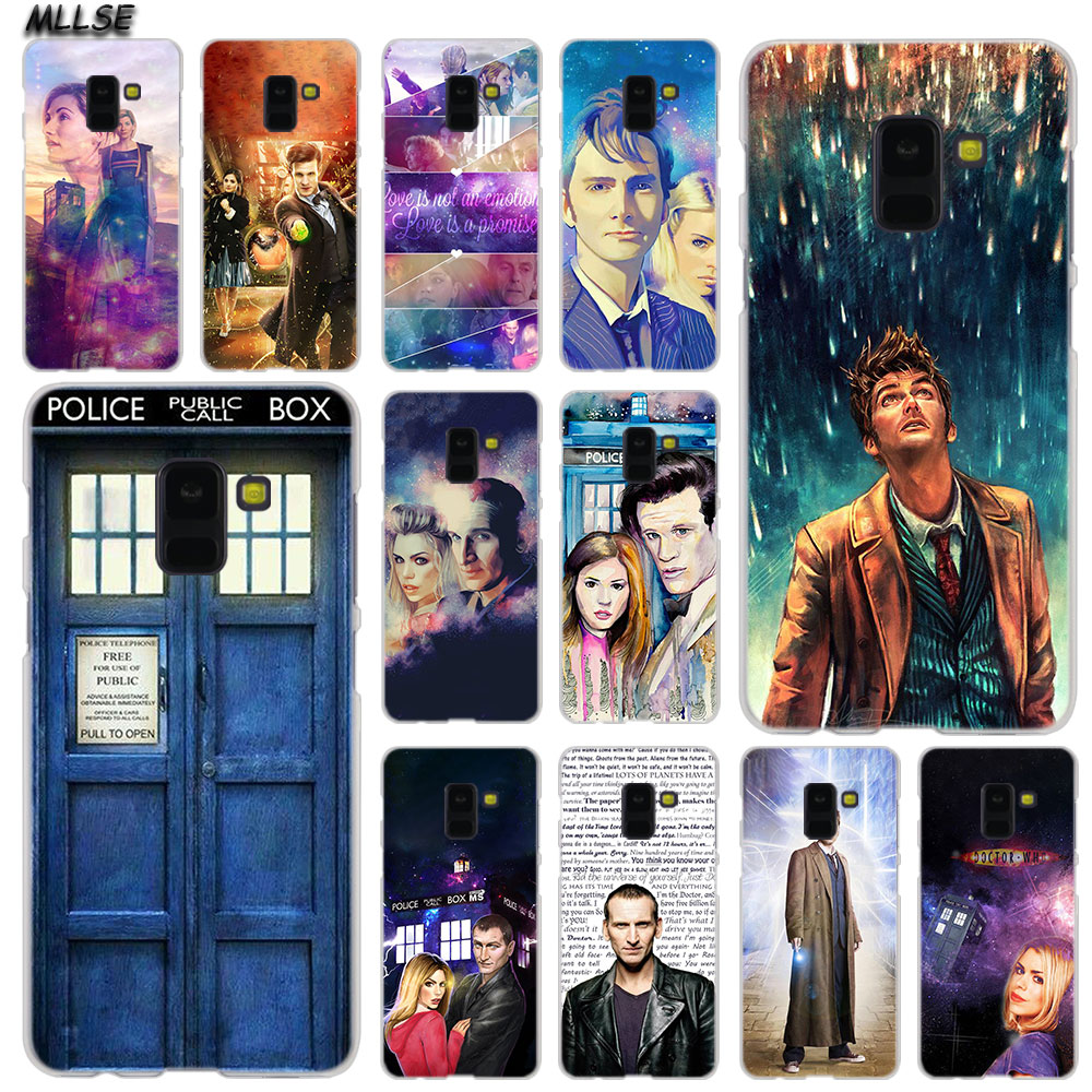 Mllse 9th And Rose Doctor Who Fashion Case Cover For Samsung Galaxy A6 A8 Plus A9 A7 2018 A5 2016 2017 A6s A9star Note9 8 5 4 Rich And Magnificent Half-wrapped Case