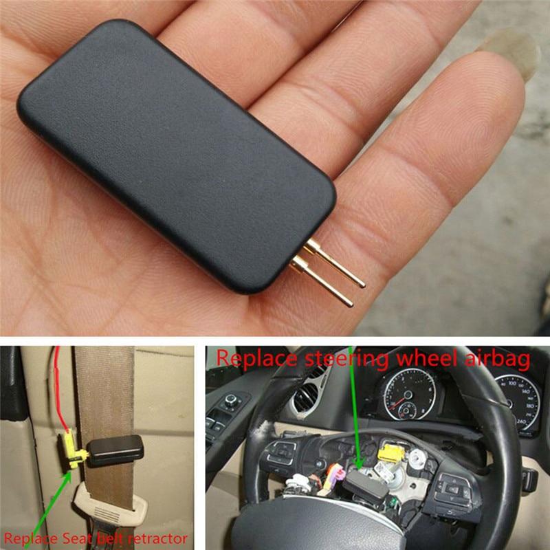 Car Airbag Simulator Emulator Bypass Garage SRS Fault Finding Diagnostic Tool Car Auto Truck Universal