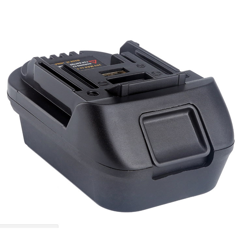Adaptateur de batterie USB pour 20 V DEWALT DCB200 Milwaukee M18 convertir en Makita 18 VAdaptateur de batterie USB pour 20 V DEWALT DCB200 Milwaukee M18 convertir en Makita 18 V