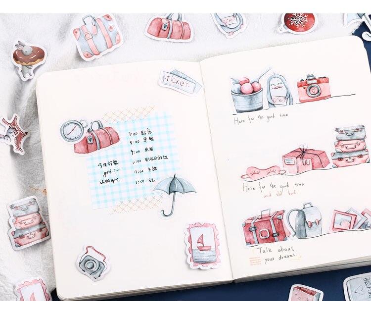 Mr. Бумаги 40 шт./кор. конфеты сказки деко наклейки для дневника Скрапбукинг планировщик японский Kawaii Декоративные Канцелярские наклейки