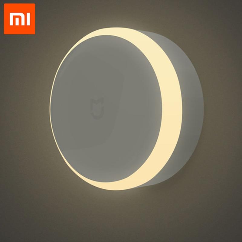 Original Xiaomi Mijia LED Corridor Xiomi Xiami Night Light With Human Body Motion Sensor Infrared Remote Control Mi Smart Home цена 2017