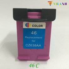 For HP 46 xl Color Ink Cartridge For HP 46xl Deskjet 2025HC 2520HC 2020HC Printer hp 51649ae 49 color