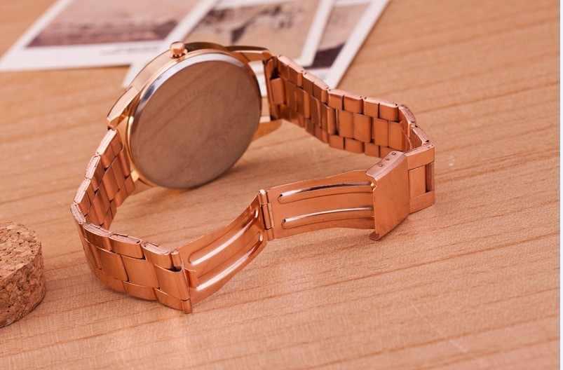 Top Brand Luxury Women Dress Watches Men stainless steel Sport Watch Unisex Quartz Clock Relogio Feminino Relogio Masculino