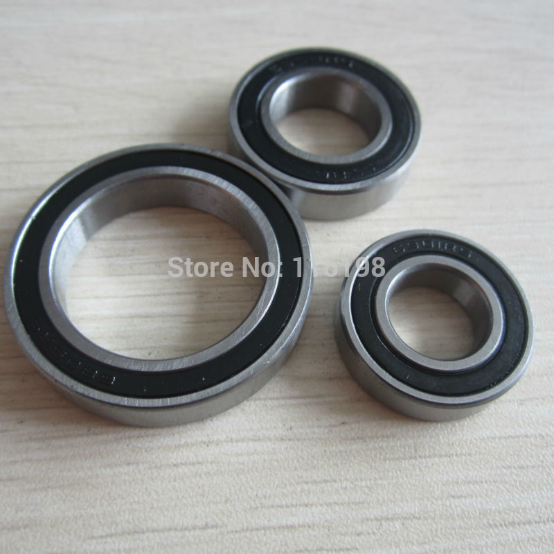 2pcs S6806-2RS SS6806-2RS 6806 61806 stainless steel ball bearing 30x42x7mm bike bottom bracket repair parts bearing for BB30 free shipping 6806 61806 si3n4 full ceramic bearing 30x42x7mm