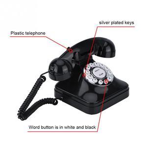 Image 4 - WX 3011 Vintage Multi Funktion Telefon Zu Hause Retro Wired Festnetz Telefon Alte Telefone für Home Hotel Büro Verwenden