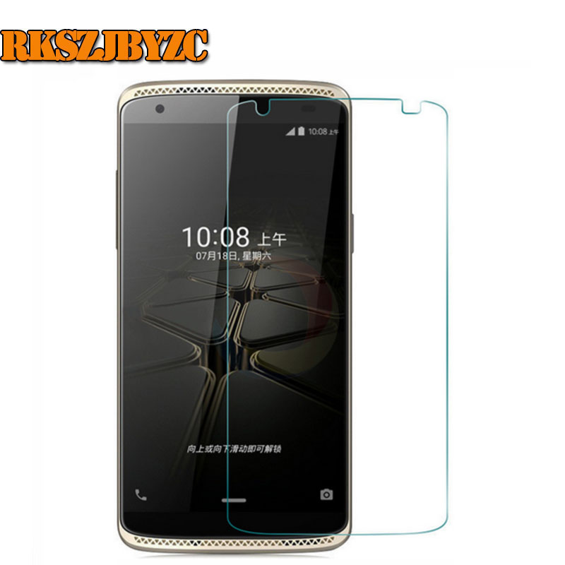 RKSZJBYZC 2.5D Premium Tempered Glass Screen Protector For ZTE Axon Mini B2015 5.2 inch 9H Explosion-Proof Protective Film