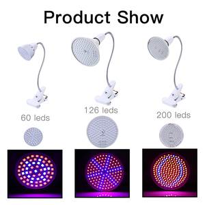 Image 3 - LED ライトの完全なスペクトル Fitolampy フィトランプ E27 フィトコ屋内用の花野菜植物テントボックス Fitolamp