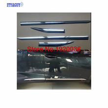 Cubierta Car styling Chrome Body Side Door Moldura Exterior Para NX 200 T 300 H Coche accesorios