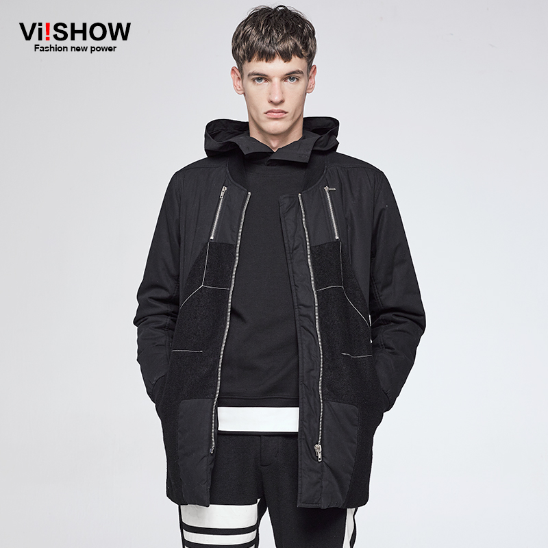 купить VIISHOW Men Jacket Coat Fashion cotton padded Winter Coat Men Jaqueta Masculina Homme Brand Casual Fit Overcoat Jacket Outerwear недорого