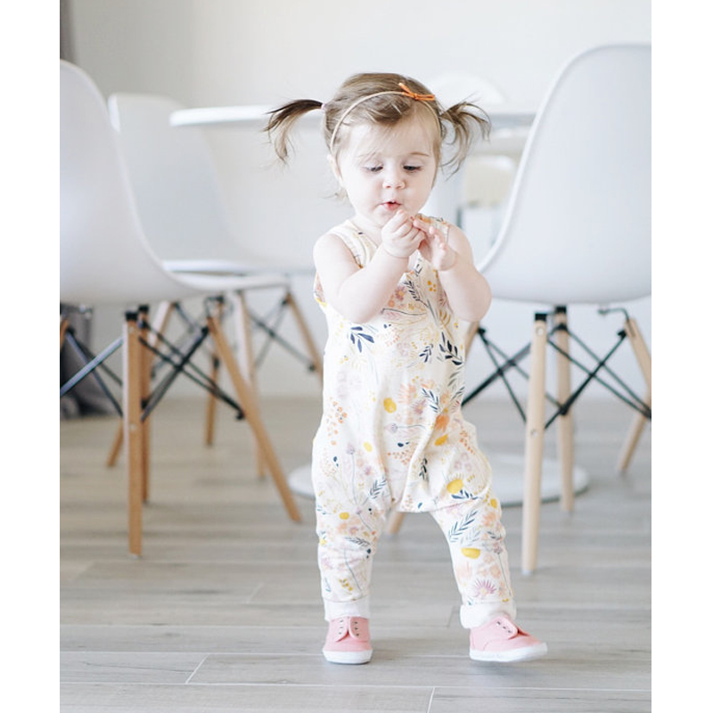 Pudcoco Fashion Newborn Kids Toddler Baby Girl Clothes Sleeveless Romper Floral Jumpsuit Playsuit Sunsuit