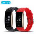 Lemse S2 Wristband Waterproof Bluetooth Smart Band Fitness Activity Tracker For Driving Run Bicycle Outdoor Sports Bracelet