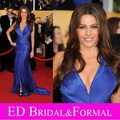 Sofia Vergara vestido azul Royal celebridade Evening Prom Pageant 17th Annual Screen Actors Guild Awards