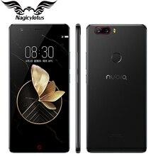 Оригинальный Нубия Z17 4 г мобильный телефон 5.5 дюймов Snapdragon 835 octacore 6 ГБ Оперативная память 64/128 ГБ Встроенная память двойной сзади Камера Android 7.1 Водонепроницаемый