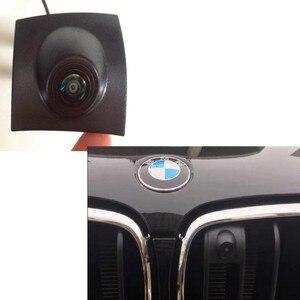 Câmera de visão frontal automotiva especial hd, para bmw x1 x3 x4 x5 1 séries 2 3 series 5 7 séries