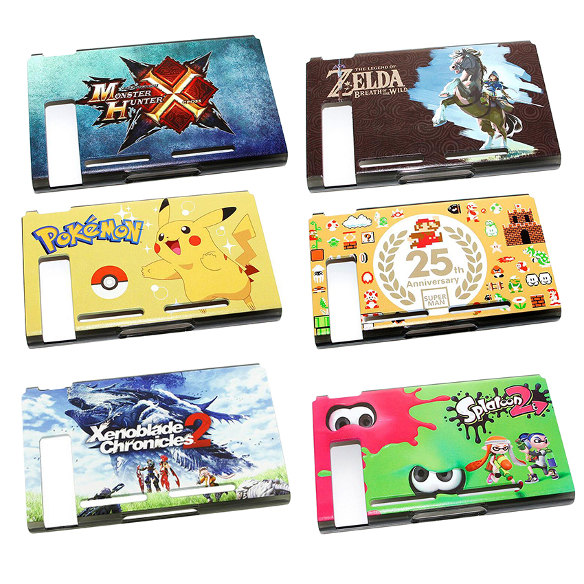 Best buy ) }}Plastic Protective Housing Shell hard Case Cover For Nintend Switch Game