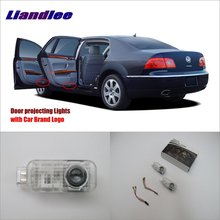 Двери автомобиля проектор Ghost Shadow светильник s для VolksWagen VW Phaeton 2005~ 2012 любезно дверные рамы лампа/светодиодный проектор Добро пожаловать светильник