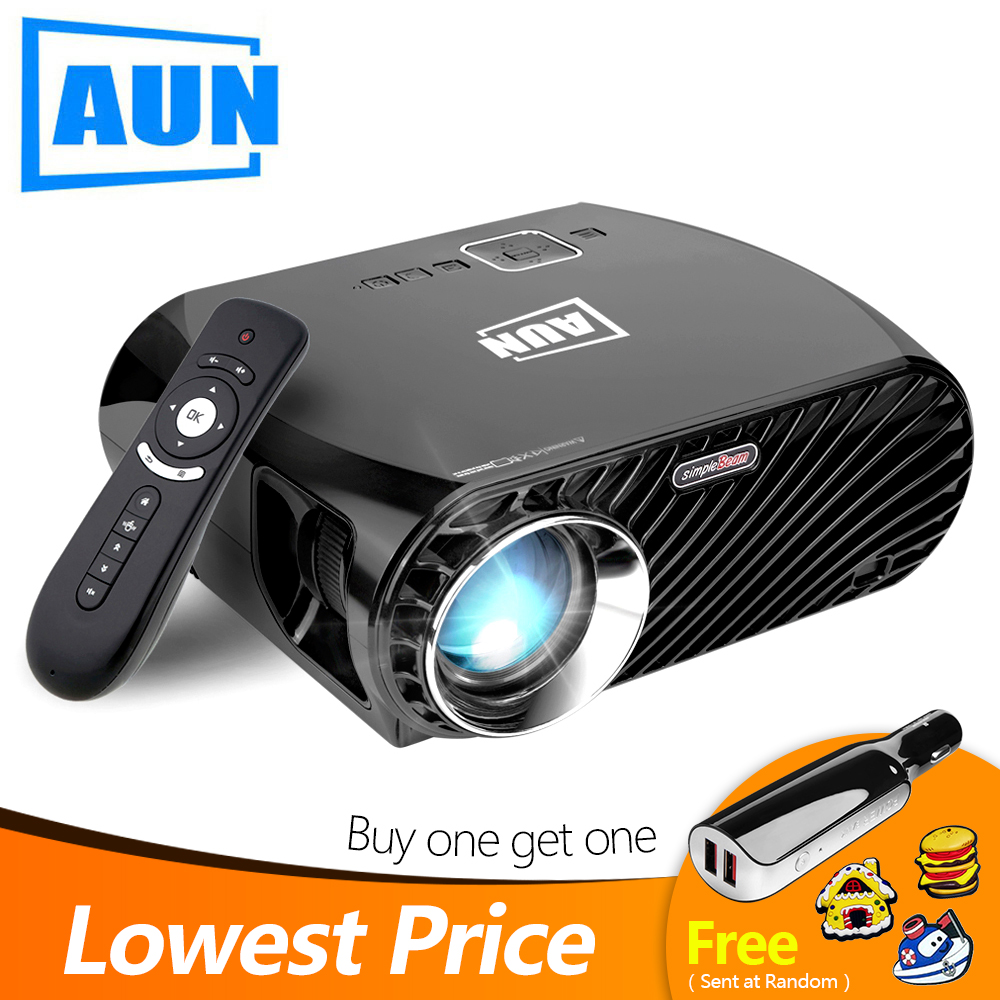 "Android 6.0.1 1280x768 200/"" Multimedia LED Projector HD 1080P WiFi Bluetooth 8G"