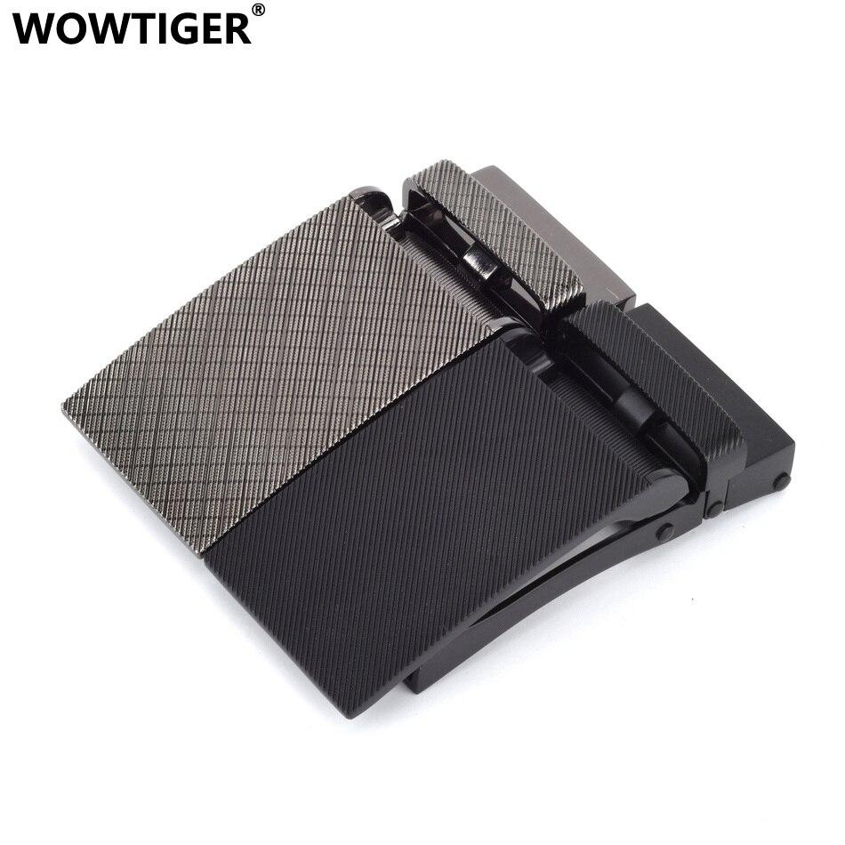 WOWTIGER Men Belt High Quality Zinc Alloy Belt Buckles Suitable 30mm Wide Belts Hebilla Cinturon Boucle Male De Ceinture