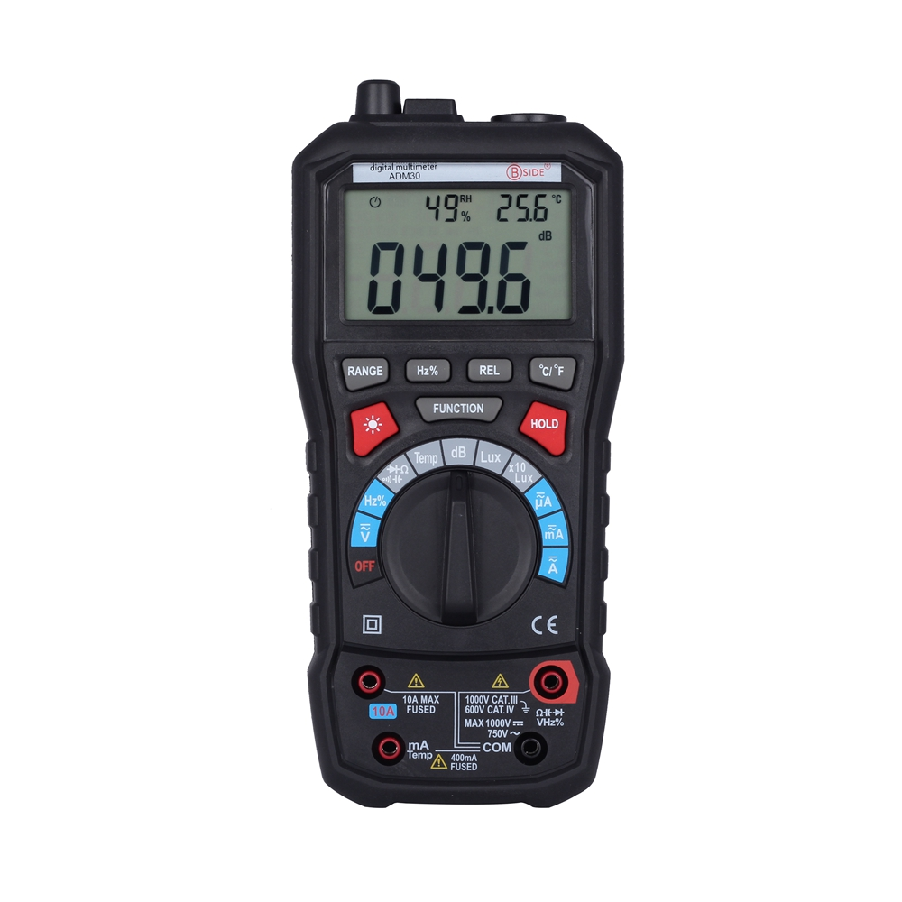 BSIDE ADM30 5 in 1 Auto Range font b Digital b font Environment Multimeter with Noise