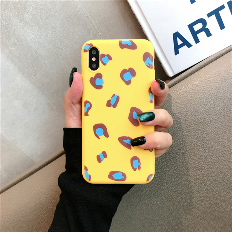 Cellphones & Telecommunications Humor Eleteil Candy Colors Leopard Print Case For Iphone X Case Xs Xr Xs Max Matte Soft Tpu Cover For Iphone 8 7 6s 6 Plus E40