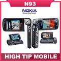 Original Refurbished Nokia N93 Wi-fi 3.15MP Bluetooth 3G Unlocked Mobile Phone Free Shipping