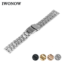 Stainless Steel Watch Band 16mm 18mm 20mm 22mm for Timex Wee