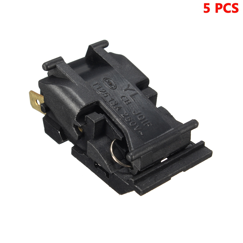 5PCS 13A XE-3 JB-01E Switch Electric Kettle Thermostat Switch Steam Medium Kitchen Appliance Parts