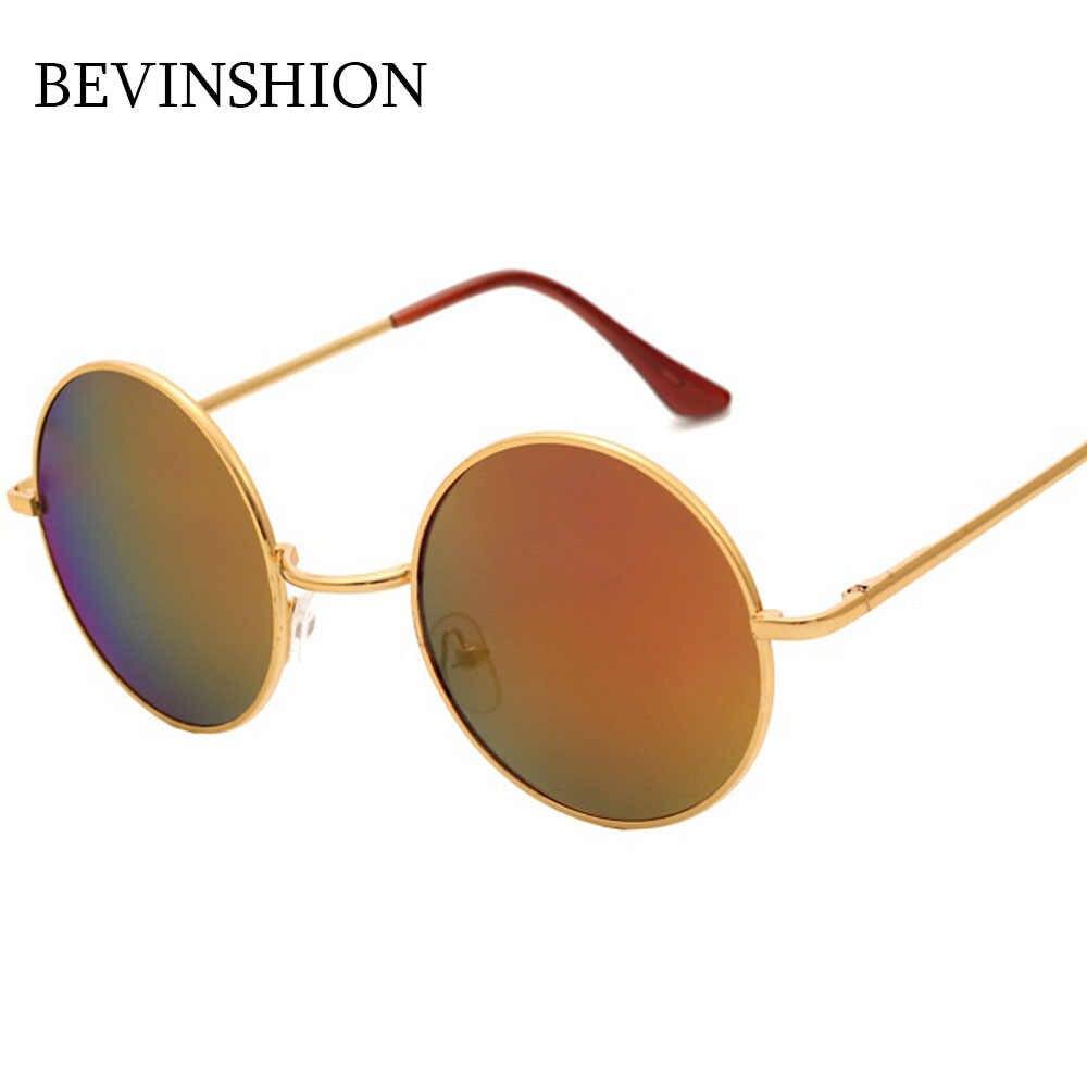 d0b3f8b456d98 ... Classic Vintage Round Sunglasses Women Men Japan Korean Cute Prince Sun Glasses  Rose Gold Pink Yellow ...