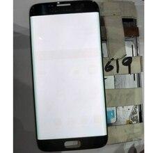 JPFix Super AMOLED для samsung Galaxy S7 edge G9350 G935F горящая тень lcd кодирующий преобразователь сенсорного экрана в сборе с рамкой